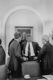 President Bill Clinton Meet with Republican Congressional Leaders in 1993 Photo