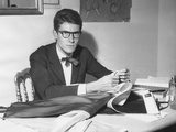 Yves Saint Laurent Opened His Couture Fashion House in Paris in 1961 Foto