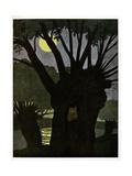 The Owl. 'Chosen Buffoon', Giclee Print by Benjamin Rabier