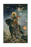 Fate and the Angel of Death, 1890 Giclee Print by Gustave Moreau