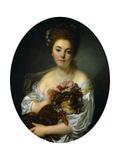 Portrait of Madame De Porcin Giclee Print by Jean Baptiste Greuze