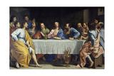 The Last Supper, 1648 Giclée-vedos tekijänä Philippe De Champaigne