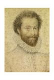 Louis I De Bourbon, Prince of Conde Giclée-tryk af Francois Clouet