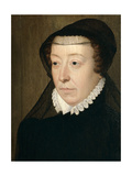 Catherine De Medicis, Queen of France Giclee Print by Francois Clouet
