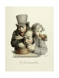 The Seven Deadly Sins: Gluttony, 1824 Giclee Print by Louis Leopold Boilly