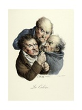 The Seven Deadly Sins: Wrath, 1824 Giclee Print by Louis Leopold Boilly