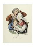 The Seven Deadly Sins: Sloth, 1824 Giclee Print by Louis Leopold Boilly