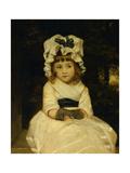 Portrait of Penelope Boothby Giclee-trykk av Joshua Reynolds
