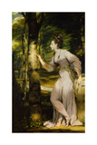 Portrait of Joanna Lloyd of Maryland Giclee-trykk av Joshua Reynolds