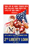 World War I War Bonds Poster Giclee Print