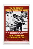 Muhammad Ali A.K.A. Cassius Clay Giclée-vedos