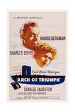 Arch of Triumph Giclée-tryk
