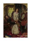 The Awakening Conscience, 1858 Giclee Print by William Holman Hunt