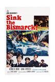 Sink the Bismarck! Reproduction procédé giclée