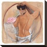 Beach Beauty Stretched Canvas Print by Talantbek Chekirov