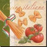 Cucina italiana Opspændt lærredstryk af Bjoern Baar