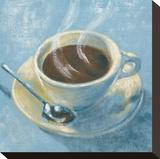Caffé Della Sera Toile tendue sur châssis par Karsten Kirchner