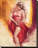 Mind & Body Stretched Canvas Print by Talantbek Chekirov