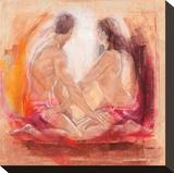 Ray of Light Stretched Canvas Print by Talantbek Chekirov