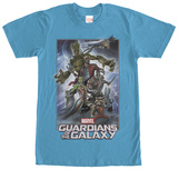 Guardians Of The Galaxy- Strike A Pose (Premium) T-skjorte