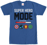 Avengers- Hero Mode Activating Shirts