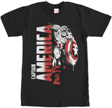 Captain America- Forward Rush T-Shirt