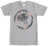 Thor- Floral Hammer (Premium) T-Shirt