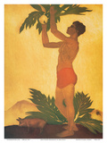 Breadfruit Boy - Hawaii Prints by John Kelly
