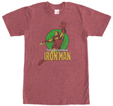 Iron Man- Up And Away T-shirts