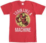 Iron Man- Train Like A Machine Shirts