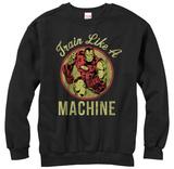 Crewneck Sweatshirt: Iron Man- Like A Machine T-Shirts