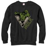 Crewneck Sweatshirt: Incredible Hulk- Smash Power T-Shirts