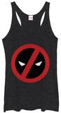 Juniors Tank Top: Deadpool- A Simple No Damestanktops