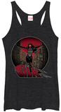Juniors Tank Top: Spiderman- Silk Damestanktops