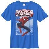 Youth: Spiderman- Wall Jump Shirts