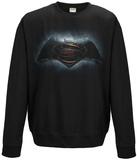 Crewneck Sweatshirt: Batman vs. Superman - Backlit Movie Logo T-Shirt