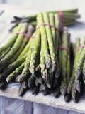 Green Asparagus Lámina fotográfica por Philip Webb