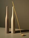 An Arrangement of Vases and Pasta Fotografisk tryk af Patrice de Villiers