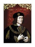 Vintage Portrait of King Richard Iii of England Plakater av Stocktrek Images,