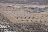 Davis-Monthan Air Force Base Airplane Boneyard in Arizona Fotoprint van Stocktrek Images,