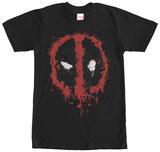Deadpool- Splatter Icon T-skjorter