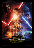 Star Wars The Force Awakens- One Sheet Stampe