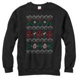 Crewneck Sweatshirt: Deadpool- Deadly Sweater Tシャツ