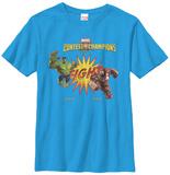 Youth: Contest Of Champions- Hulk Vs. Iron Man T-Shirts