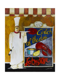 Catch of the Day Giclée-Druck von Jennifer Garant