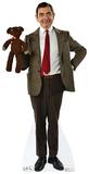 Mr. Bean And Teddy Silhouettes découpées en carton