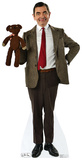 Mr. Bean And Teddy Cardboard Cutouts