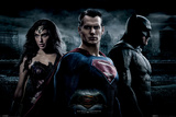 Batman vs. Superman- Trinity Photo Print