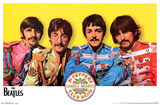 The Beatles- Sgt. Peppers Album Inner Gatefold Posters