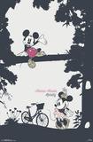 Disney- Minnie Mouse Pretty 高品質プリント